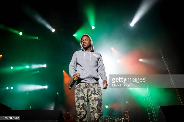 Kendrick Lamar performs on Day 3 of the 2013 Ottawa Folkfest at Hogs Back Park on September 6 2013 in Ottawa Canada