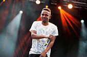 Kendrick Lamar performs on stage on Day 2 of Austin City Limits Festival at Zilker Park on October 5 2013 in Austin Texas