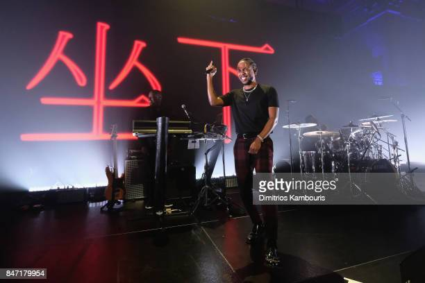 Kendrick Lamar performs onstage at Rihanna's 3rd Annual Diamond Ball Benefitting The Clara Lionel Foundation at Cipriani Wall Street on September 14...