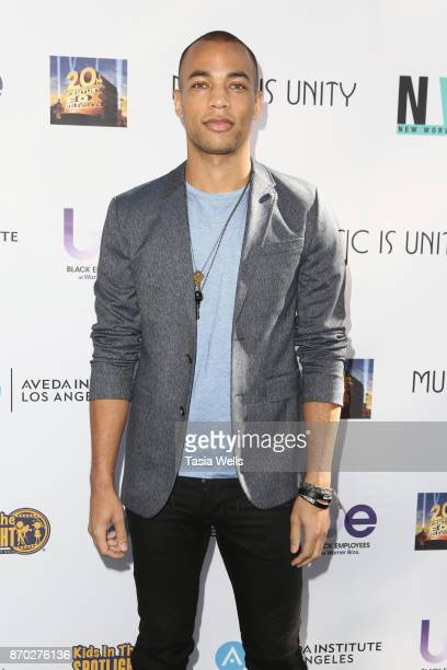 Kendrick Sampson at the 8th Annual 'Movies by Kids' Screening and Awards Show at Fox Studios on November 4 2017 in Los Angeles California
