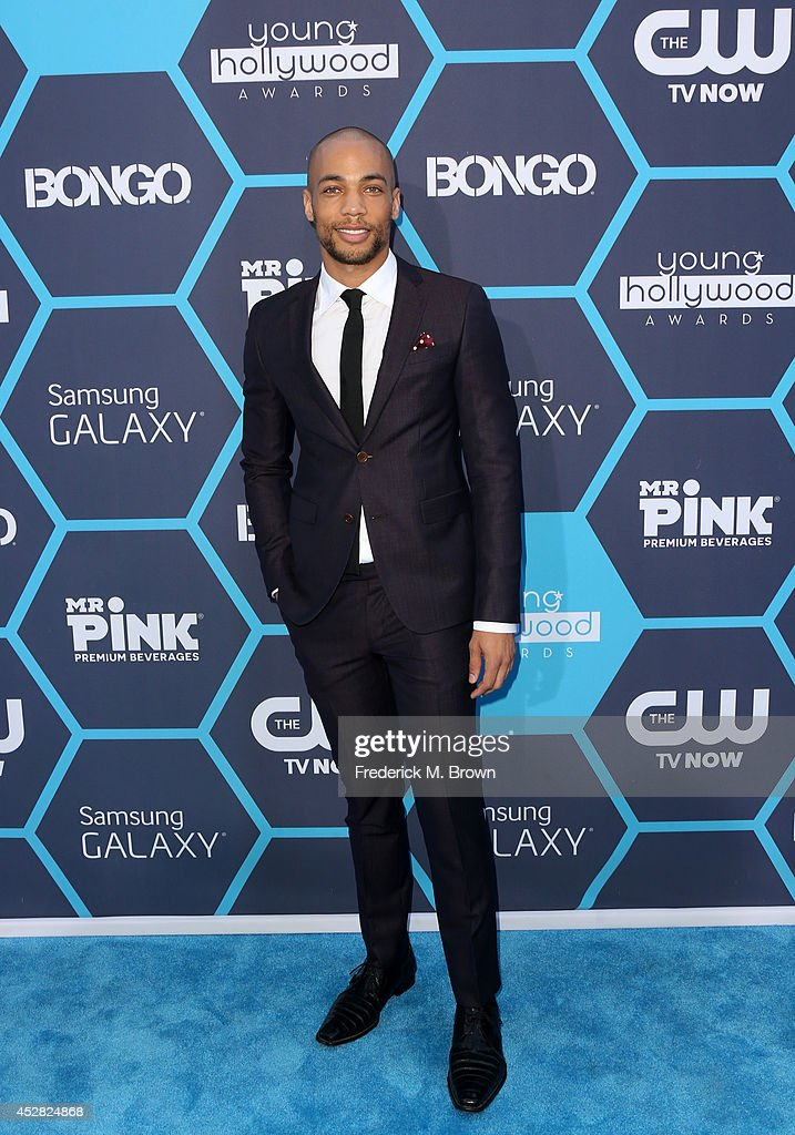 Kendrick Sampson attends the 2014 Young Hollywood Awards brought to you by Samsung Galaxy at The Wiltern on July 27, 2014 in Los Angeles, California.