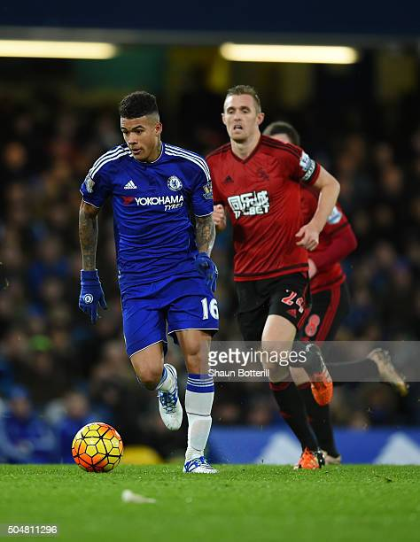 Kenedy of Chelsea in action during the Barclays Premier League match between Chelsea and West Bromwich Albion at Stamford Bridge on January 13 2016...