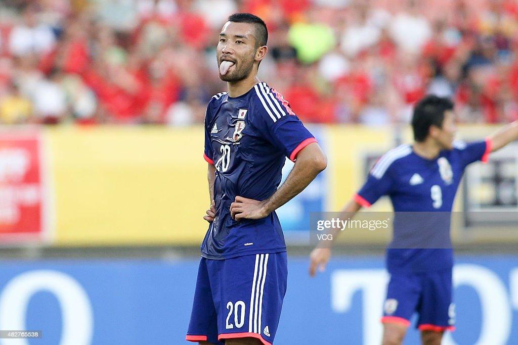 DPR Korea v Japan - EAFF East Asian Cup 2015