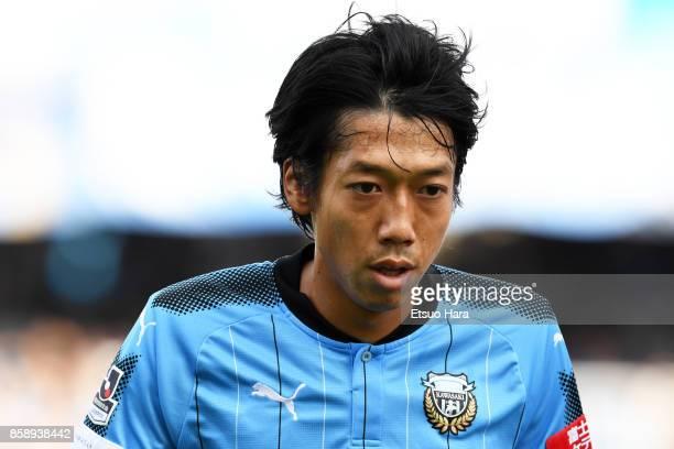 Kengo Nakamura of Kawasaki Frontale looks on during the JLeague Levain Cup semi final second leg match between Kawasaki Frontale and Vegalta Sendai...