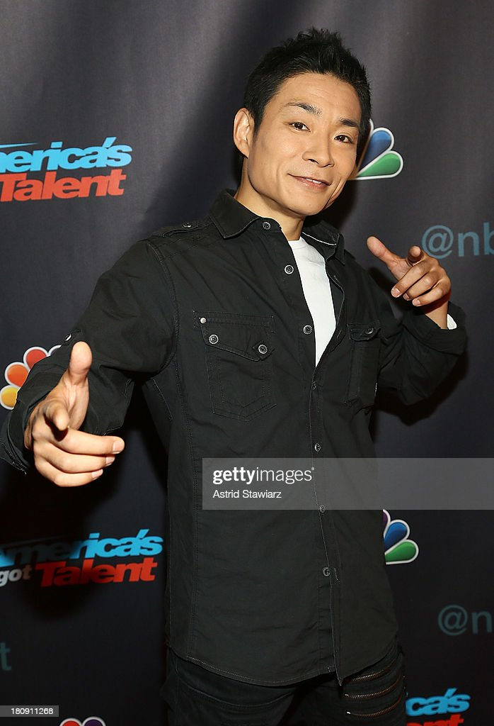 Kenichi Ebina attends 'America's Got Talent' Season 8 Pre-Show Red Carpet Event at Radio City Music Hall on September 17, 2013 in New York City.