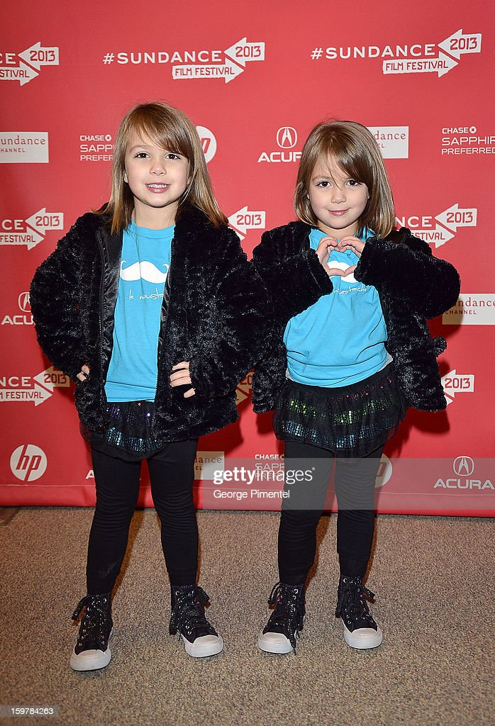 Kennadie Smith (L) and Jacklynn Smith attend the 'Aint Them Bodies Saints' premiere at Eccles Center Theatre during the 2013 Sundance Film Festival on January 20, 2013 in Park City, Utah.