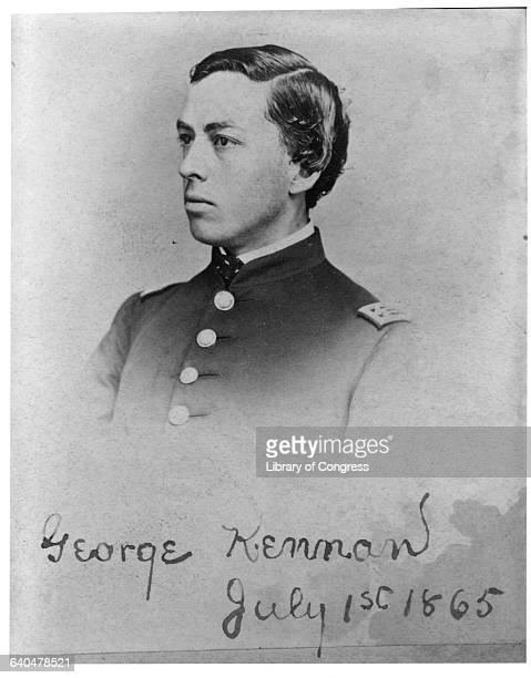 Kennan George 18451924 71116h/s in uniform July 1 1865 4 photoprints George Kennan Coll DLC/PP197380