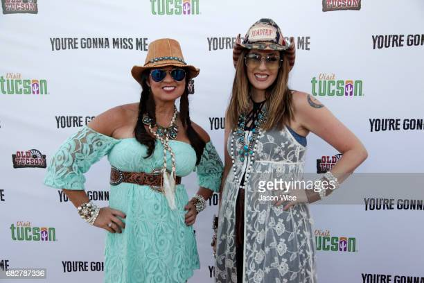 Kenneathia Williams and Michelle Turner attend 'You're Gonna Miss Me' premiere sponsored by Visit Tucson on May 13 2017 in Tucson Arizona