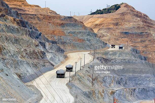 Kennecott Copper Mine near Salt Lake City in Utah