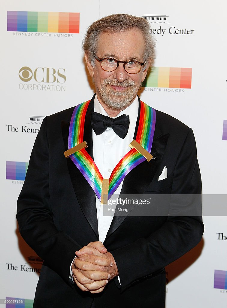 Kennedy Center honoree director Steven Spielberg attends the 38th Annual Kennedy Center Honors Gala at John F. Kennedy Center for the Performing Arts on December 6, 2015 in Washington, DC.