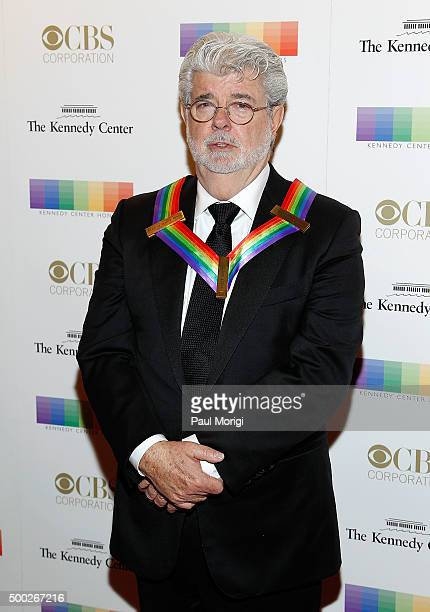 Kennedy Center honoree filmmaker George Lucas attends the 38th Annual Kennedy Center Honors Gala at John F Kennedy Center for the Performing Arts on...