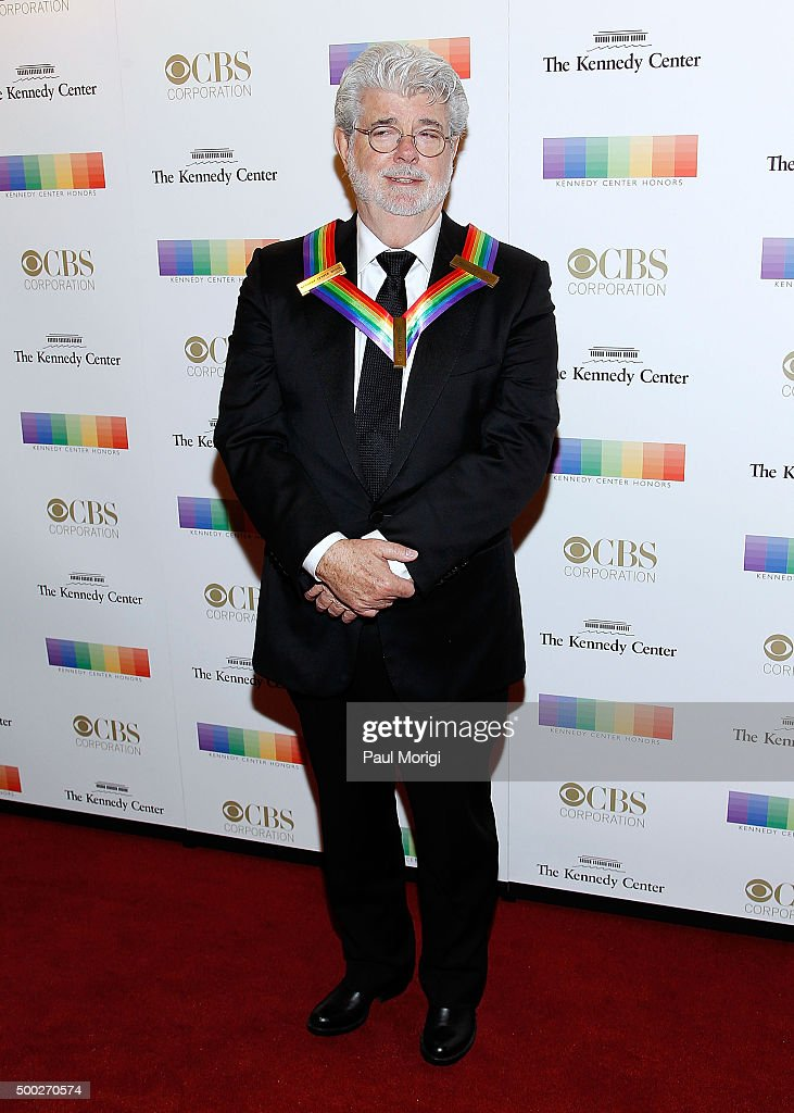 Kennedy Center honoree filmmaker George Lucas attends the 38th Annual Kennedy Center Honors Gala at John F. Kennedy Center for the Performing Arts on December 6, 2015 in Washington, DC.
