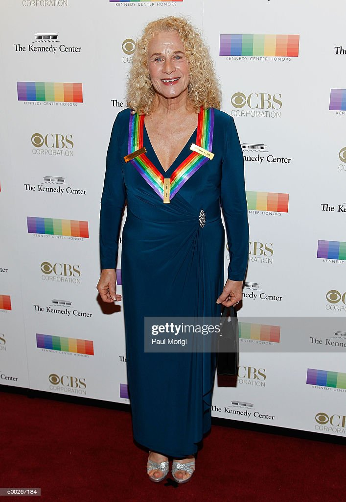 Kennedy Center honoree singer Carole King attends the 38th Annual Kennedy Center Honors Gala at John F. Kennedy Center for the Performing Arts on December 6, 2015 in Washington, DC.