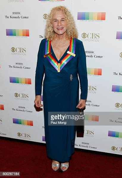 Kennedy Center honoree singer Carole King attends the 38th Annual Kennedy Center Honors Gala at John F Kennedy Center for the Performing Arts on...