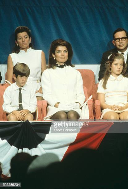 Kennedy family at the 1964 Democratic Convention