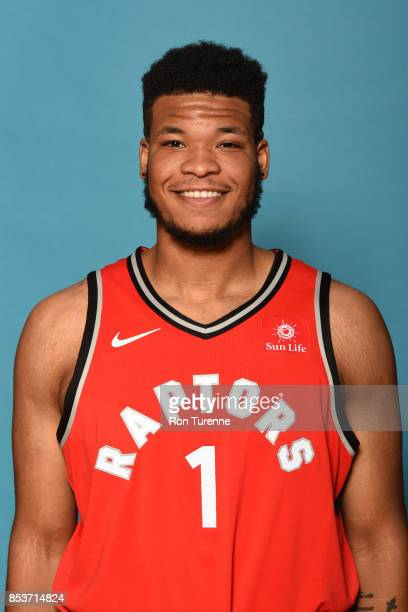Kennedy Meeks of the Toronto Raptors poses for a head shot during Media Day on September 25 2017 at the BioSteel Centre in Toronto Ontario Canada...