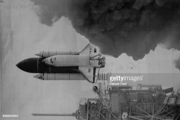 Kennedy Space Center Fla June 5The space shuttle Columbia lifts off from Kennedy Space Center Wednesday in a ***** trembling roar as it carried its...