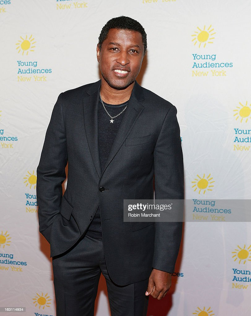 Kenneth '<a gi-track='captionPersonalityLinkClicked' href=/galleries/search?phrase=Babyface&family=editorial&specificpeople=227435 ng-click='$event.stopPropagation()'>Babyface</a>' Edmonds attends the 2013 Children's Arts Award Benefit at Cipriani Wall Street on March 4, 2013 in New York City.