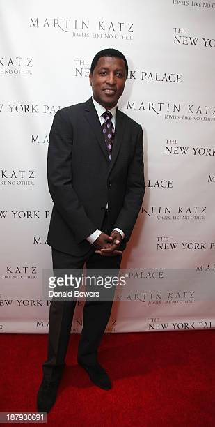 Kenneth 'Babyface' Edmonds attends The Martin Katz Jewel Suite Debuts At The New York Palace Hotel on November 13 2013 in New York City