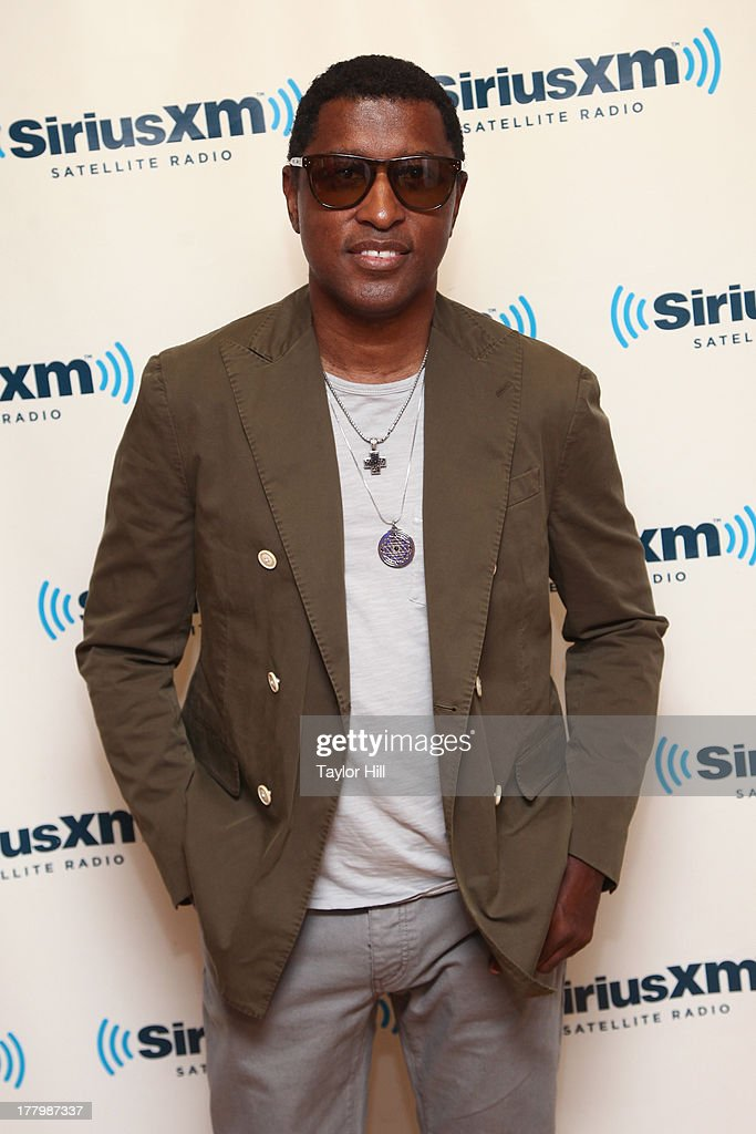 Kenneth '<a gi-track='captionPersonalityLinkClicked' href=/galleries/search?phrase=Babyface&family=editorial&specificpeople=227435 ng-click='$event.stopPropagation()'>Babyface</a>' Edmonds visits the SiriusXM Studios on August 26, 2013 in New York City.