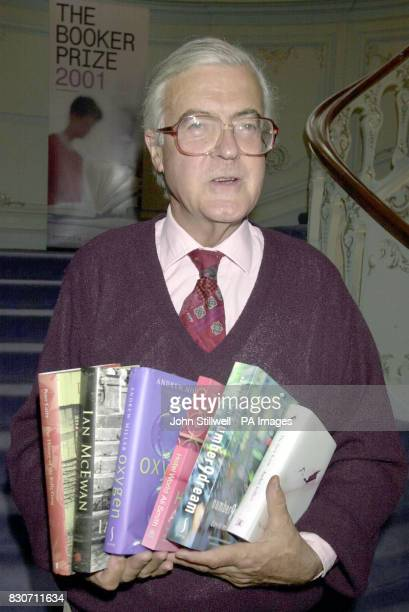 Kenneth Baker Chairman of the judges panel for the Booker prize 2001 with the six books named on the shortlist The judges of the Booker prize will...