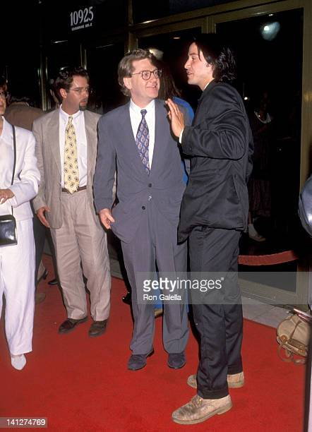 Kenneth Branagh and Keanu Reeves at the Premiere of 'Much Ado About Nothing' Mann National Theatre Westwood