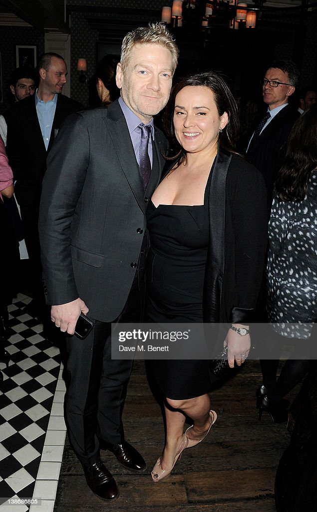 <a gi-track='captionPersonalityLinkClicked' href=/galleries/search?phrase=Kenneth+Branagh&family=editorial&specificpeople=213618 ng-click='$event.stopPropagation()'>Kenneth Branagh</a> (L) and Lindsay Brunnock attend The Weinstein Company Dinner Hosted By Grey Goose in celebration of BAFTA at Dean Street Townhouse on February 10, 2012 in London, England.