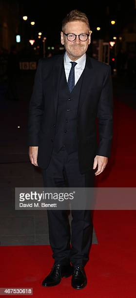 Kenneth Branagh arrives at the BBC Films' 25th Anniversary Reception at BBC Broadcasting House on March 25 2015 in London England