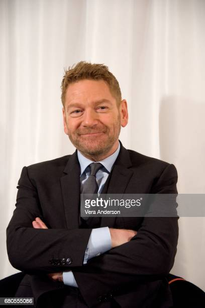 Kenneth Branagh at the 'Murder on the Orient Express' Press Conference at the Ham Yard Hotel on May 5 2017 in London England