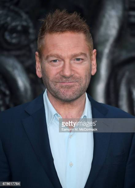 Kenneth Branagh attends the 'Alien Covenant' World Premiere at the Odeon Leicester Square on May 4 2017 in London England