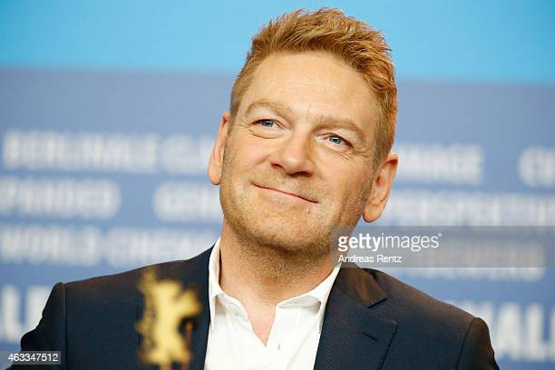Kenneth Branagh attends the 'Cinderella' press conference during the 65th Berlinale International Film Festival at Grand Hyatt Hotel on February 13...
