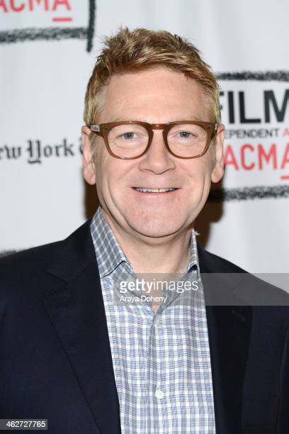 Kenneth Branagh attends the Film Independent at LACMA presents 'Jack Ryan Shadow Recruit' screening and QA at Bing Theatre At LACMA on January 14...