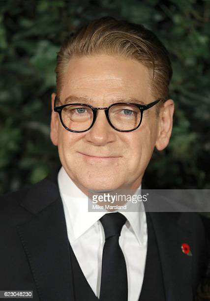Kenneth Branagh attends The London Evening Standard Theatre Awards at The Old Vic Theatre on November 13 2016 in London England
