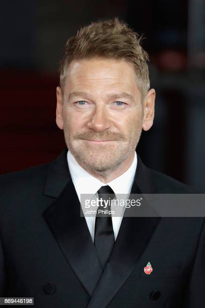 Kenneth Branagh attends the 'Murder On The Orient Express' World Premiere at Royal Albert Hall on November 2 2017 in London England