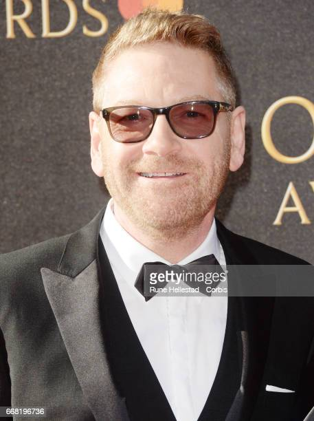 Kenneth Branagh attends The Olivier Awards 2017 at Royal Albert Hall on April 9 2017 in London England