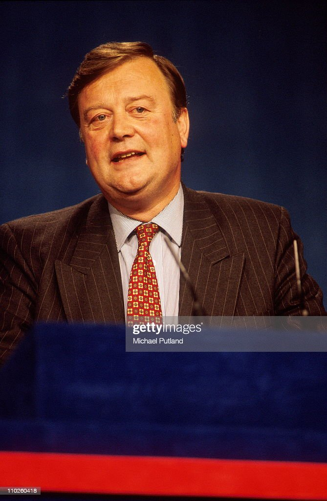 Kenneth Clarke at the Conservative Party Conferennce UK 1994