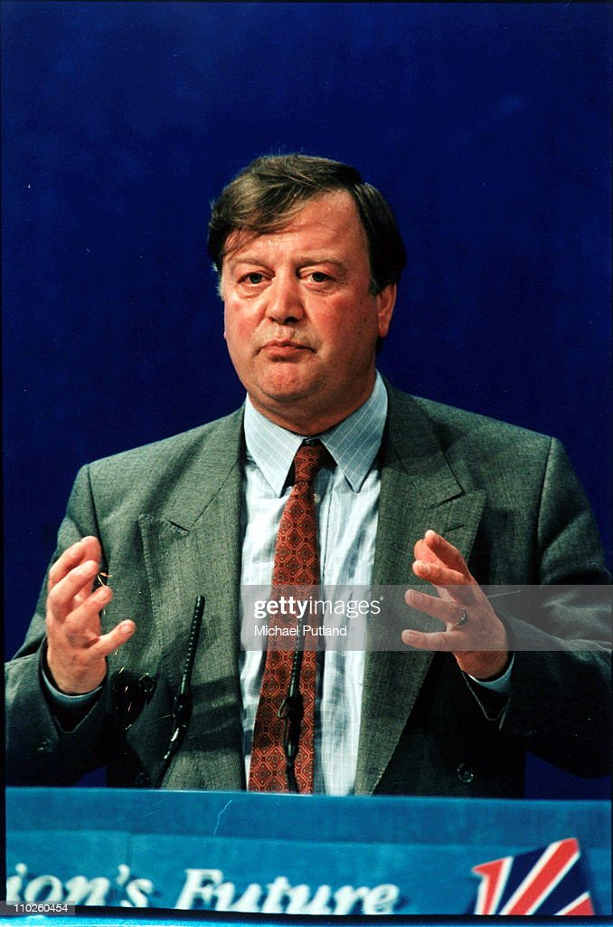 Kenneth Clarke at the Conservative Party Conferennce UK 1995