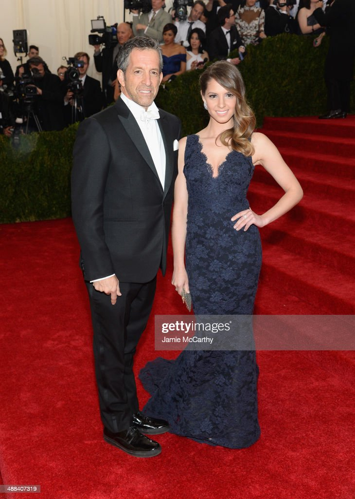 Kenneth Cole and Emily Cole attend the 'Charles James: Beyond Fashion' Costume Institute Gala at the Metropolitan Museum of Art on May 5, 2014 in New York City.