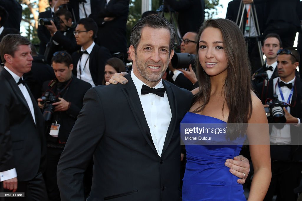 Kenneth Cole and guest attends the 'Cleopatra' premiere during The 66th Annual Cannes Film Festival at Theatre Lumiere on May 21, 2013 in Cannes, France.