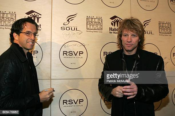 Kenneth Cole and Jon Bon Jovi attend Jon Bon Jovi and Kenneth Cole Team Up For An Unforgettable Night of Fundraising At 'RSVP To Help' at Tribeca...
