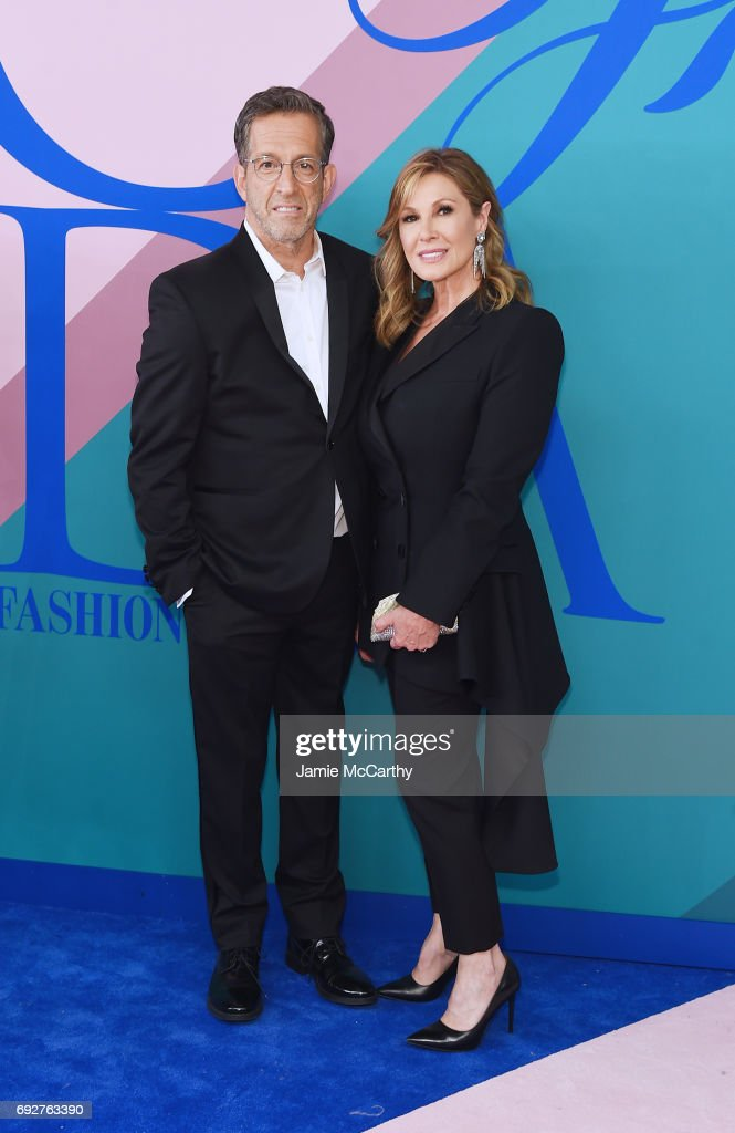 Kenneth Cole and Maria Cuomo Cole attend the 2017 CFDA Fashion Awards at Hammerstein Ballroom on June 5, 2017 in New York City.