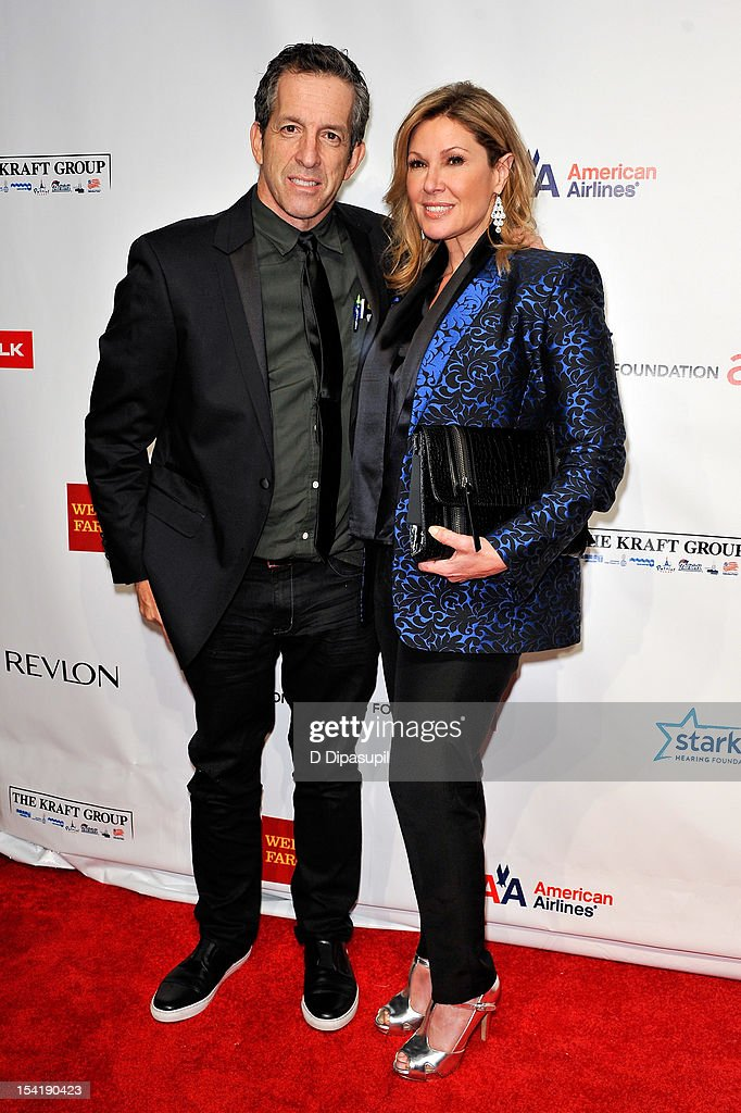 Kenneth Cole (L) and Maria Cuomo Cole attend the Elton John AIDS Foundation's 11th Annual 'An Enduring Vision' Benefit at Cipriani Wall Street on October 15, 2012 in New York City.