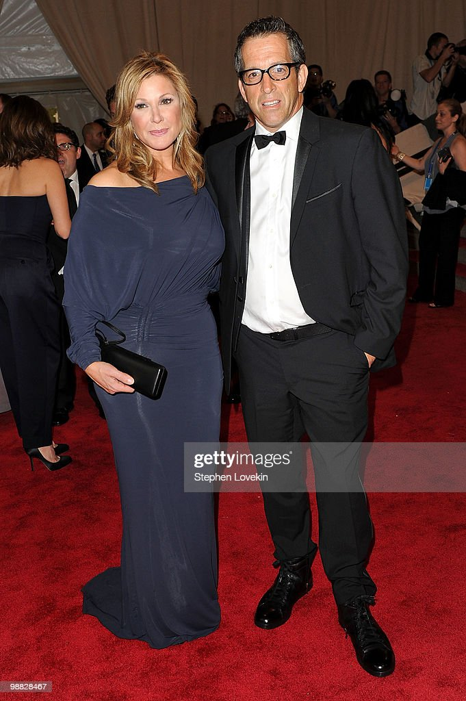 Kenneth Cole (R) and wife Maria Cuomo attend the Costume Institute Gala Benefit to celebrate the opening of the 'American Woman: Fashioning a National Identity' exhibition at The Metropolitan Museum of Art on May 3, 2010 in New York City.