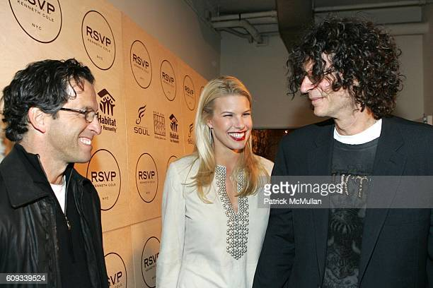 Kenneth Cole Beth Ostrosky and Howard Stern attend Jon Bon Jovi and Kenneth Cole Team Up For An Unforgettable Night of Fundraising At 'RSVP To Help'...