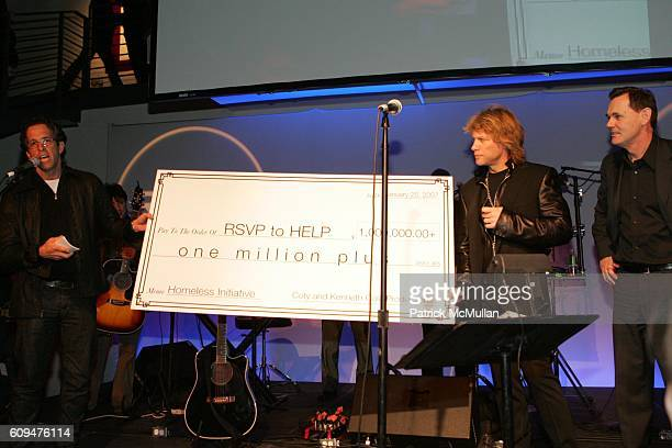Kenneth Cole Jon Bon Jovi and Bernd Beetz attend Jon Bon Jovi and Kenneth Cole Team Up For An Unforgettable Night of Fundraising At 'RSVP To Help' at...