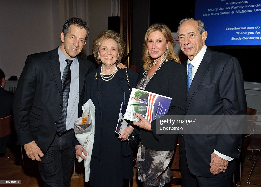 Kenneth Cole Matilda Cuomo Maria Cuomo Cole and Mario Cuomo attends the Brady Center to Prevent Violence honors and gala at the Bohemian National...