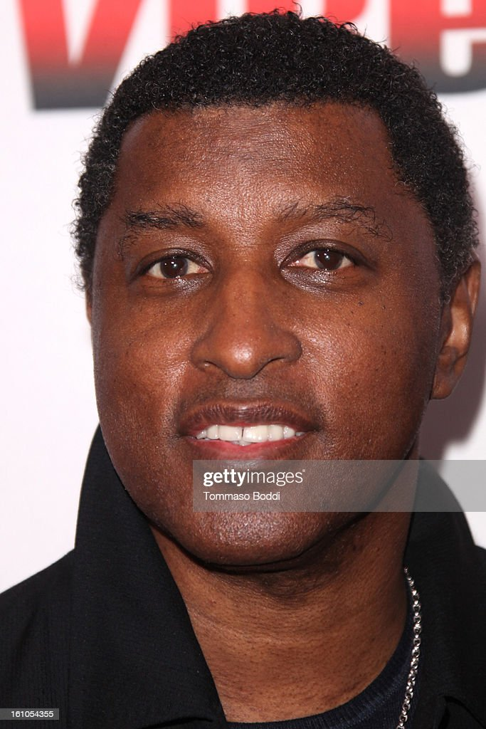 Kenneth Edmonds attends the Vibe Magazine 20th anniversary celebration held at the Sunset Tower on February 8, 2013 in West Hollywood, California.