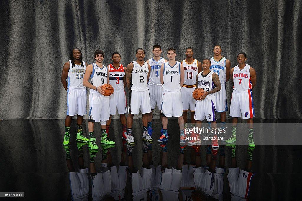 NBA All-Star Portraits 2013