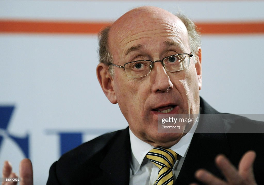 <a gi-track='captionPersonalityLinkClicked' href=/galleries/search?phrase=Kenneth+Feinberg&family=editorial&specificpeople=1061876 ng-click='$event.stopPropagation()'>Kenneth Feinberg</a>, founder and managing partner of Feinberg Rozen LLP, speaks at the John C. Bogle Legacy Forum in New York, U.S., on Tuesday, Jan. 31, 2012. The forum, named after the founder of The Vanguard Group, looks at Bogle's investing strategies and what they mean in today's economic environment. Photographer: Peter Foley/Bloomberg via Getty Images