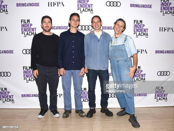 Kenneth Gilmore Daniel Aged Andrew Aged and Gabriel Noel attend the Film Independent at LACMA screening of Bring The Noise Gulliver's Travels at Bing...